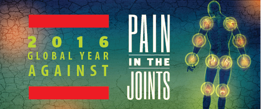 2016 Global Year Against Pain in the Joints