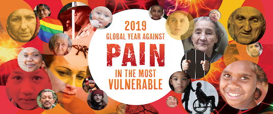 2019 Global Year Against Pain in the Most Vulnerable