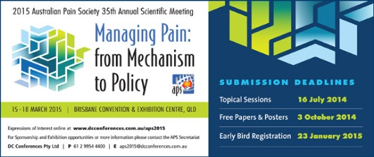 2015 APS Conference Brisbane ... more