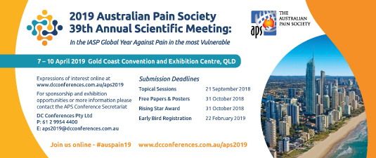 2019 APS Conference Gold Coast ... more