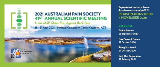 2021 APS Conference Canberra ... more