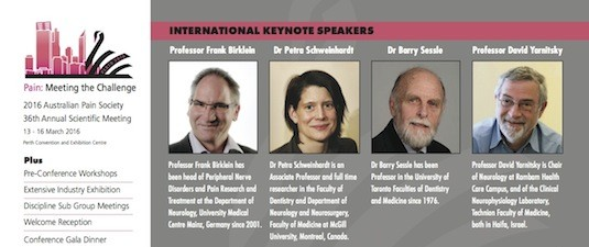 2016 International Keynote Speakers... more