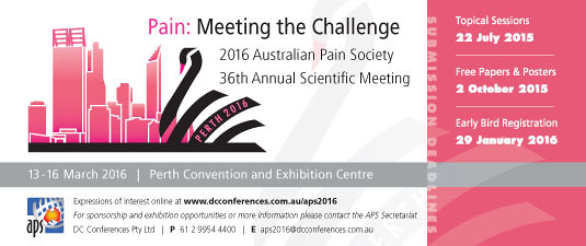 2016 APS Conference Perth ... more