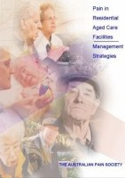 Pain in Residential Aged Care Facilities Bookcover